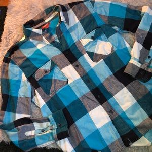 Men's Arizona Flannel Plaid Button Up